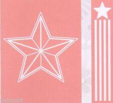 Cuttlebug Cartella di Goffratura PLUS BORDO STAR con strisce 2001396 ridotto