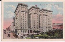 Hotel St Francis San Francisco California CA Postcard