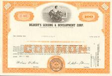 DILBERT'S LEASING & DEVELOPMENT stock certificate share