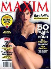 Maxim Magazine November 2012 Berenice Marlohe 50 Years of James Bond JANA PETERS
