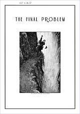 Sherlock Holmes poster The Final Problem