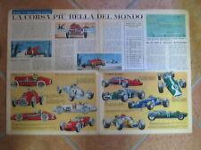 automobilismo Inserto Corriere dei Piccoli Anni'60 Gran Premio di F1