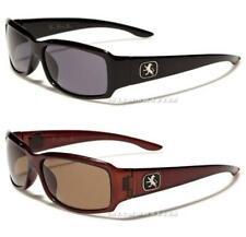 Nuevas gafas de sol Khan Para Hombre señoras para mujer Polarizado Wrap Retro Negro conducción Uv400