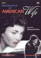 Indiscretion of An American Wife, Jennifer Jones, Montgomery Clift, DVD