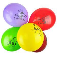"Pack of 10 - 12"" Latex Balloons Baby Girls Boys - Farm Animals Printed Balloons"
