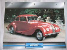 Bristol 400 Dream Cars Card