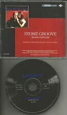 DAVID MANN Stone Groove w/ RARE RADIO EDIT 2001 PROMO Radio DJ CD single MINT