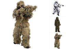 Mil-Tec Tarnanzug Ghillie Suit Anti Fire Tarnkleidung Camouflage Anzug M-XXL
