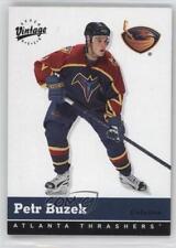 2000-01 Upper Deck Vintage #20 Petr Buzek Atlanta Thrashers Hockey Card