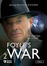 Foyle's War - Set 2 (DVD, 2013, 4-Disc Set)