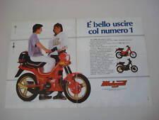 advertising Pubblicità 1987 MALAGUTI FIFTY TOP