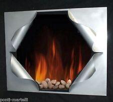 CORNICE DESIGN Specchio Foto FERRO BATTUTO con o senza LED . Personalizzata 819