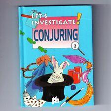 Let's Investigate #2. CONJURING. Small HB Book. Technique/Guide. ISBN 0710509669