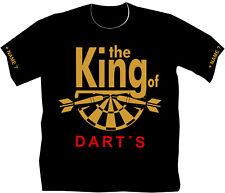 Dartshirt Dart T Shirt Hemden Dartclub Geburtstag Geschenk The King of Darts 15
