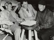 JOHN WAYNE Island in the sky 8x10 rare CANDID Duke,Andy Devine, William Wellman