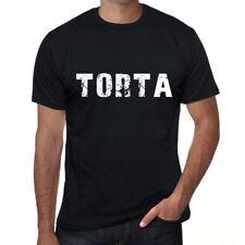 torta Herren T shirt Schwarz Geburtstag Geschenk 00553