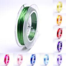 10m Elastikfaden STRONG & STRETCHY 0,8mm FARBAUSWAHL Gummifaden Elastikband