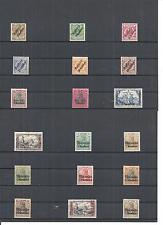 Marokko, DAP, 1899 - 1905, Einzelmarken aus Michelnrn: 1 - 33 *,ungebraucht */**