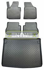 Z330843 SET Kofferraumwanne Gummifußmatten für VW Volkswagen Caddy Life 2K Hochd