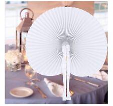10/20/50pcs Handheld Paper Fan / Fans - Wedding Favour / Party Bag Filler