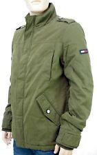 TOMMY HILFIGER JEANS veste Parka  Cotton Field kaki homme sherpa DM0DM05005