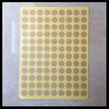 Blank Kraft Round Circle Stickers | 10mm | BL010