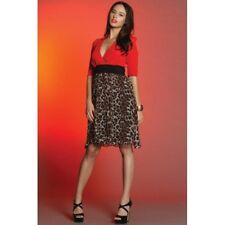 PINK RUBY - Leopard Grace Dress *Clearance* BNWT