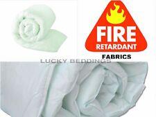 WATERPROOF AND FIRE RETARDANT GREEN TINT DUVET / QUILT