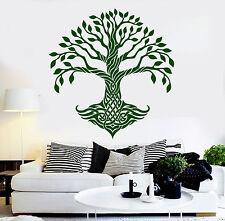 Vinyl Wall Decal Celtic Tree Pattern Ireland Irish Art Decor Stickers (ig4806)