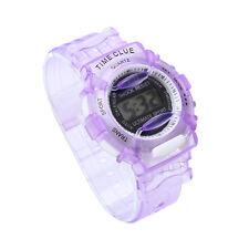 Candy Color Boys Girls Children Students Waterproof Digital Sports Wrist Watch