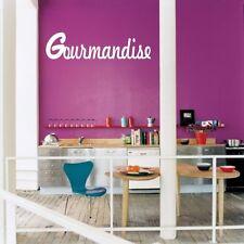 Beau stickers cuisine gourmandise salle à manger cuisine taille couleur au choix
