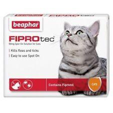 Beaphar Fiprotec FIPROtec Kill Flea Tick Spot On Cat Fipronil 1 3 6 Treatment