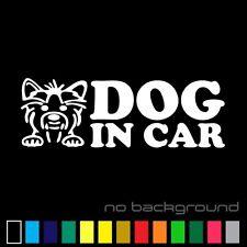 Dog In Car Sticker Vinyl Decal Pet On Board Auto Warning Truck Window Car Bumper