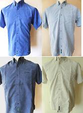 BEN SHERMAN Shirt Boys Plain S/S Polynosic Royal,Navy,Stone Sizes: M,L,XL