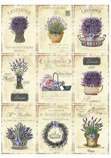 BÜGELBILD-Vintage-Shabby-Nostalgie-Lavendel-Lavender-3267