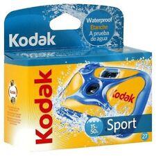 10 Kodak Sport Waterproof One Time Use Disposable Camera 27 Exposure Exp 08/2018