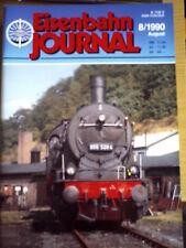 Eisenbahn Journal 8 1990 -- Lokwerkstatt Zittau Pethau