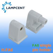 FA8 End Connector FA8 Holder Single Pin Socket Fit T8 T10 T12 LED Tube Lamp Base