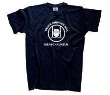 Oggi semplicemente mal Uova schaukeln lettura oziare resto T Shirt S XXXL
