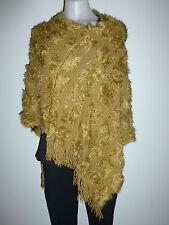 Womens Ladies poncho knit winter coat jacket warm cape poncho NEW