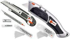 Cuttermesser Teppichmesser Mehrzweck Messer Ersatzklingen versch. Ausführungen