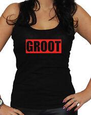 Groot Tanktop Fun Kult Guardians Baum Star Lord Gamora Diesel Film I M
