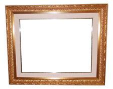 Cornici Oro per quadri - Cornici in legno Dorata per foto - Oro modello Barocca