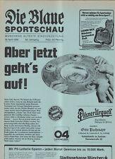 BL 85/86 FC Bayern München - Bayer 04 Leverkusen Blaue)