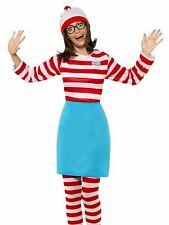 Wheres Wally Female Fancy Dress Costume