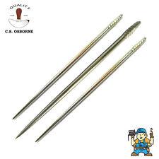 "C.S. Osborne No.32 Stabbing Awl Blades 2.5 - 3""  Leather Work (Singles)"
