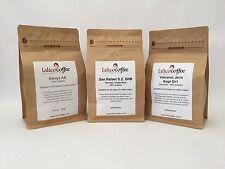 Exotique Ensemble Cadeau Simple 3x origine 100% Main rôti Arabica Coffee Beans/sol