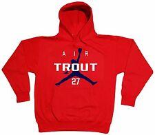 Mike Trout Los Angeles Anaheim Angels Air Trout jersey Hooded SWEATSHIRT HOODIE