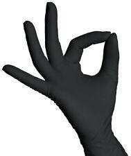 Schwarze Einmalhandschuhe Einweghandschuhe aus Nitril Nitrilhandschuhe Tattoo
