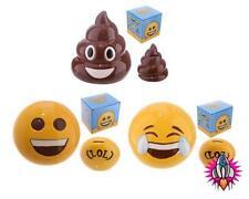 EMOJI EMOTI MONEY BOX PIGGY BANK NEW IN GIFT BOX LOL POOP POO BIG SMILE